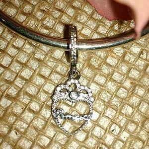 Pandora's dangling Princess ♥ Tiara Charm